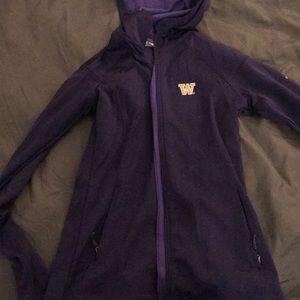 University of Washington Columbia Zip up